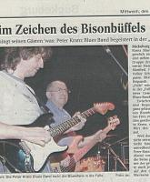 "thumbnail Büffel-Konzert in der ""FALLE"" Bückeburg - Blues in den Mai - 30.April 2000"